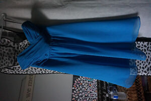 Aqua Blue Bridesmaid Dress Kawartha Lakes Peterborough Area image 1