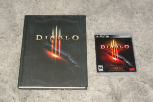 Diablo III and Strategy Guide (PS3)