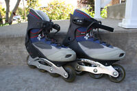Roller blades looking for size-8.5 speed-loving crazy man