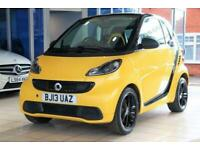 2013 13 SMART FORTWO 1.0 CITYFLAME EDITION MHD 2D 71 BHP PETROL AUTOMATIC