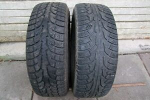 2-265/65R17 WINTER TIRES CAN SELL AS SINGLE OR PAIR