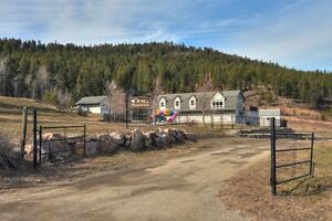 Private Lake view acreage with a nice home