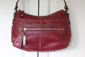 Reduced! NINE WEST Red Purse with Matching Change Purse