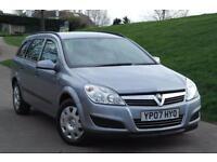 2007 Vauxhall Astra 1.8i VVT Life 5dr Auto [AC] 5 door Estate