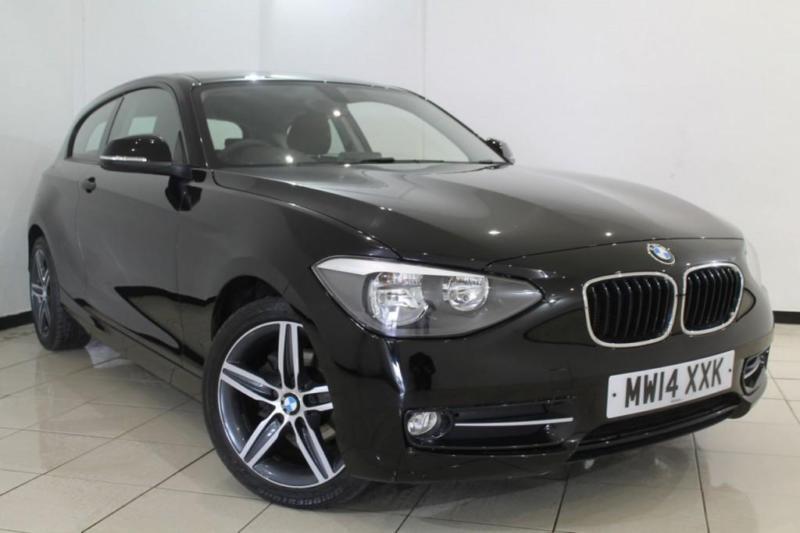 2014 14 BMW 1 SERIES 2.0 116D SPORT 3DR 114 BHP DIESEL