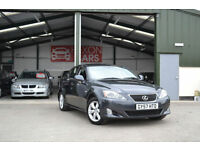 2007 Lexus IS 220d 2.2TD ( Multimedia ) Sport MANUAL DIESEL SAT NAV