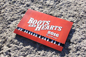 2 BOOTS & HEARTS 4 DAY GENERAL ADMISSION TICKETS