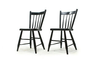 Late 1800's Quebec French Country Side Chairs