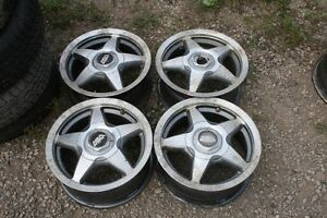 SET OF FOUR ESCORT WHEELS