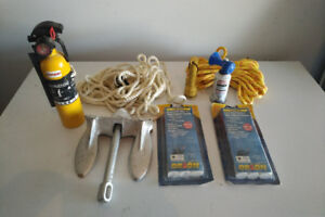 NEW Boat Emergency Marine Kit Flares Fire Extinguisher Anchor