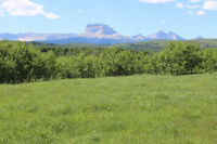 Land with Creek next to Community Pasture SW of Cardston
