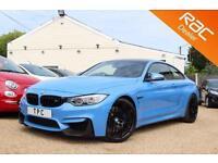 2016 16 BMW 4 SERIES 3.0 M4 COMPETITION PACKAGE 2D AUTO 444 BHP- RAC DEALER
