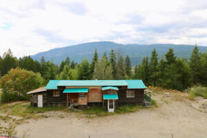 Home & 80 Acres of Forest near Golden, BC