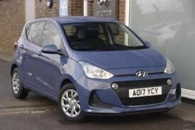 2017 Hyundai i10 1.0 SE Petrol blue Manual