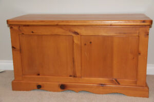 Pine Chest, custom made with solid pine wood.