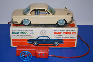 1965 Yonezawa BMW 2000 CS Coupe in Original Box