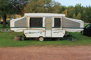 2003 Palamino Filly tent trailer