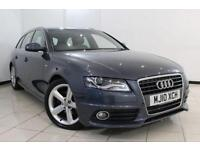 2010 10 AUDI A4 2.0 AVANT TDI S LINE SPECIAL EDITION 5DR AUTOMATIC 141 BHP DIESE
