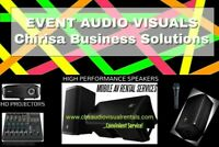 Speaker -Projector-Tent Rental for BanquetHall-Party Room-DJs