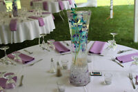 10 Wedding Centerpiece Tall Vase's For sale