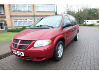 2006 Dodge Grand Caravan 3.3 Auto 7 Seater Left hand drive Lhd UK Reg