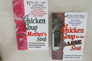 Chicken Soup for the Mother's Soul & College Soul (Over $50 new)
