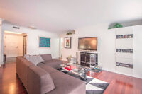 YORKVILLE CONDO FOR SALE WITH WOOD-BURNING FIREPLACE