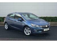2017 Vauxhall Astra 1.4T 16V 150 SRi 5dr Auto Hatchback Automatic Hatchback Petr