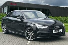 image for 2017 Audi A3 Saloon Black Edition 2.0 TFSI quattro 310 PS S tronic Auto Saloon P