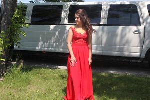 Red Grad Dress