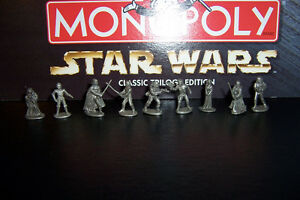 Limited Edition Star Wars Monopoly Complete with 9 Figures Cornwall Ontario image 5