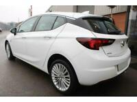 2016 WHITE VAUXHALL ASTRA 1.6 CDTI 136 ELITE NAV DIESEL CAR FINANCE FR £137 PCM