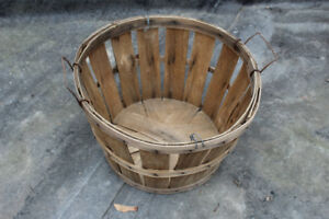Vintage Small Bushel Basket