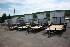 Factory Outlet Pricing on High Quality Trailers