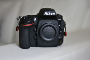 Nikon D810 inc. 2x 8G CF and PD strap great condition, no issues
