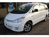 2000 (W Reg) Toyota Estima 3.0 White Automatic Import Fully Loaded 7 Seater TV A