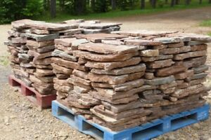 NATURAL BOULDERS for landscaping project.
