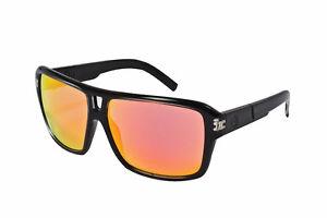 Dragon Alliance The Jam Sunglasses- Jet Frame Red Ion Lens