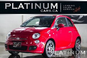 2013 Fiat 500 SPORT/ HIFI SOUND/ BLUETOOTH/ 5 SPEED MANUAL