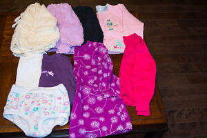 Small bundle of girl's clothes size 12-18/18-24 months