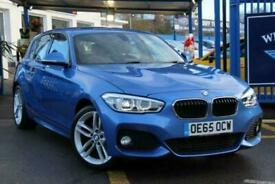 image for 2016 65 BMW 1 SERIES 1.5 116D M SPORT 5D 114 BHP DIESEL