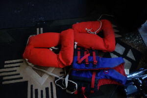 THREE LIFE JACKETS - Like New!  Located in Legal