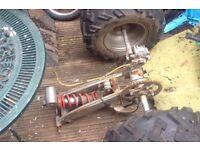 Used quad wheels
