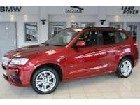 2012 62 BMW X3 3.0 XDRIVE30D M SPORT 5D AUTO 255 BHP DIESEL