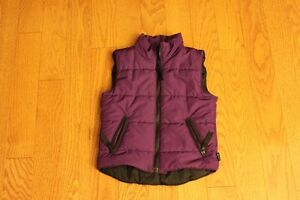MEC 4T  Purple Vest - perfect for spring layers