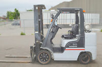 FORKLIFTS Hyster Yale Toyota COMPANY CLOSING AUCTION SALE