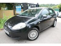 Fiat Grande Punto 1.2 Active Black 5 Door Great First Car Finance Available