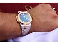 Rose gold and stainless steel PATEK Philippe REDUCEDDDDDD. £270 down to £180