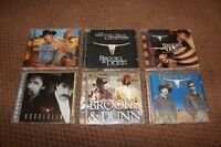 Brooks & Dunn CD's
