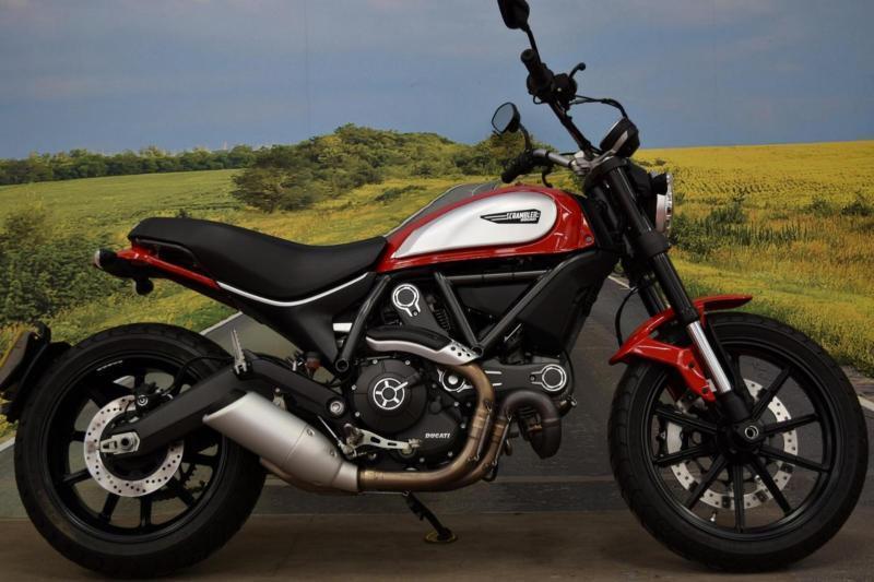 Ducati Scrambler Icon **ABS, Datatag Protection, Brembo Brakes**